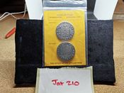"Replica Spanish 8 Reales ""Pieces of Eight"" in Souvenir Pack, VG, JAT10"